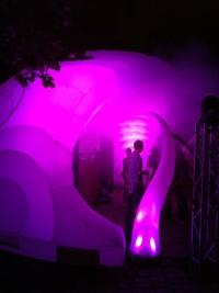 Dome beleuchtet