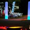 Aufblasbare LED Säulen