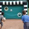 Fußballtorwand – Aufgeblasen