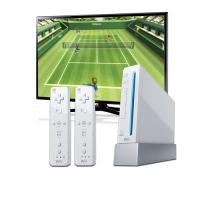 Nintendo Wii mit Flachbildschirm