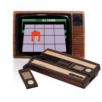 Intellivision Mattel mit Röhrenbildschirm