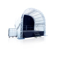 Runddachbühne – 4 x 6 m inkl. Aufbau