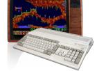 Commodore Amiga 500 Plus Spielekonsole mit Röhrenbildschirm