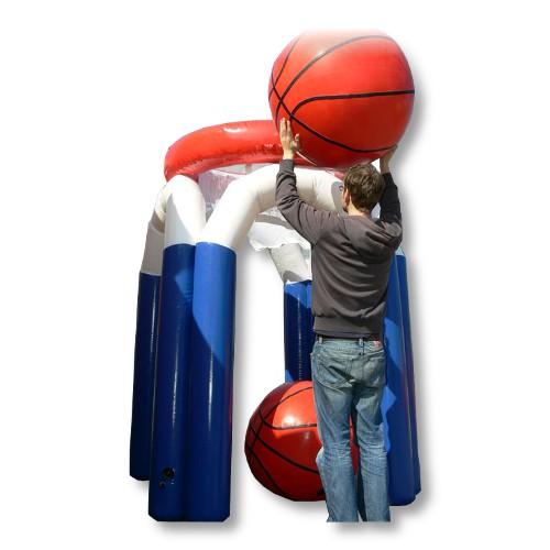 Riesen Basketballkorb