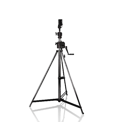 Kurbel – Lichtstativ mit TV Zapfenaufnahme