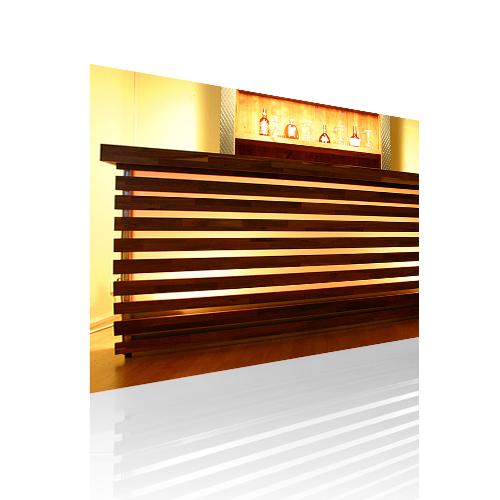 mobile led bar wood theke mieten b event. Black Bedroom Furniture Sets. Home Design Ideas