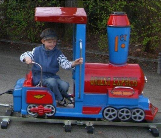 Kindereisenbahn elektrisch