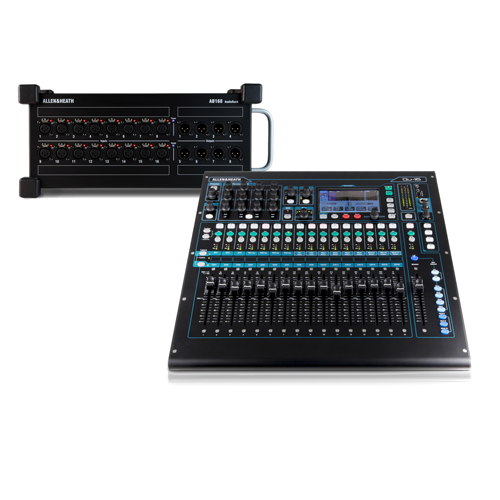 Allen & Heath – Qu-16 mit Stagebox AB168 Set